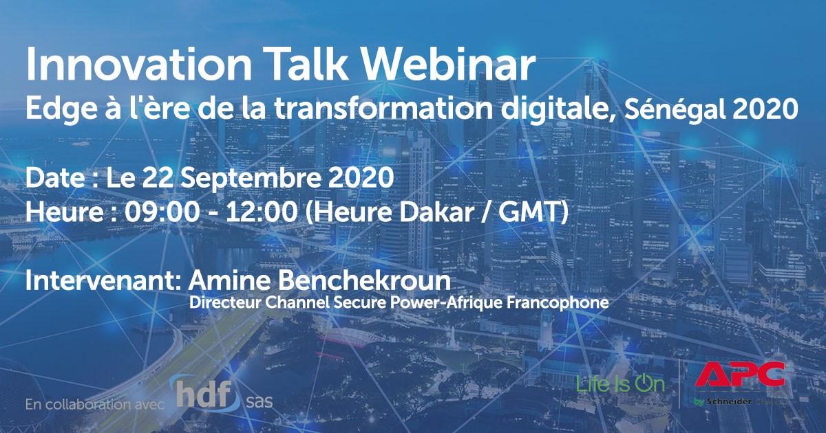 Innovation Talk Webinaire